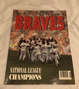 1992 ATLANTA BRAVES Yearbook BOBBY COX Tom GLAVINE John SMOLTZ David JUSTICE