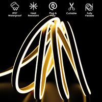 ATOM Led Neon Flex Light Waterproof LED 220V Double Sided Cool White-Warm White