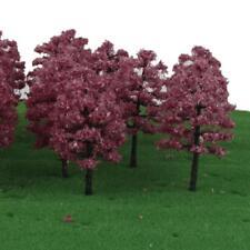 20 Model Trees HO OO Scale Train Railway Garden Scene Wargame Diorama 1 100