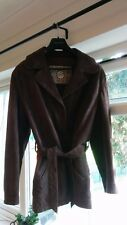 Women's Real Brown Leather Jacket (100% Leather)