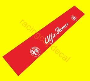 Alfa Romeo Sun Strip Visor banner Windshield Decal Sticker spider 147 156 giulia