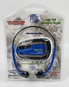 GPX RS Sports AM/FM Armband Radio Headphones A2098RS