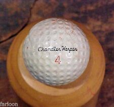 1965 Plymouth CHANDLER HARPER Steel Center SIGNATURE GOLF BALL