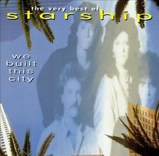 STARSHIP - THE VERY BEST OF : WE BUILT THIS CITY CD (GRACE SLICK/JEFFERSON)*NEW*