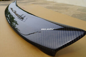 Carbon Lexus IS200 Trunk Deck Lip Spoiler OE Type IS300 1998-2005