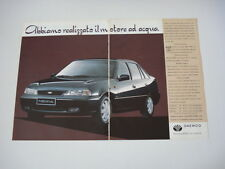 advertising Pubblicità 1995 DAEWOO NEXIA