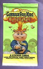 2011 Garbage Pail Kids Flashback Series 3 Unopened Sticker Pack from Box!
