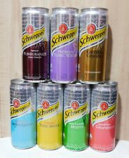 Full Set Of Empty Cans Schweppes from Ukraine 2019- 2020 Open bottom! - 7 pcs.