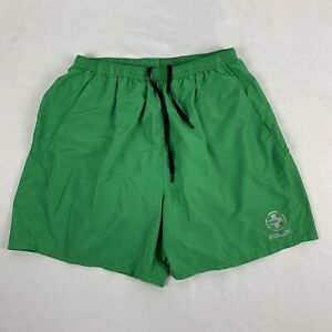 Polo Sport Ralph Lauren Shorts Swim Trunk Men's Large Green Lined RLX
