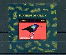 Ghana 2015 MNH Sunbirds of Africa 1v S/S Birds Splendid Sunbird