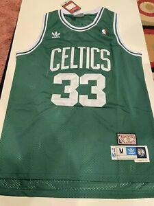 Boston Celtics Larry Bird #33 Throwback Green Mens Jersey