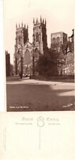 York Inter-War (1918-39) Real Photographic (rp) Collectable English Postcards