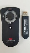 Interlink Electronics Vp6499 Presentation Pilot Pro remote and receiver