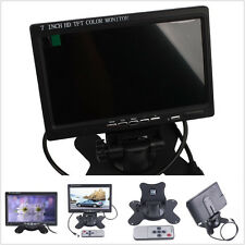 Rotatable 7 inch TFT LCD Color HDMI Monitor Screen Video for DVR Security Camera