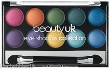BEAUTY UK SOHO NO.2 EYESHADOW COLLECTION BRIGHT/VIBRANT SHADES NEW SEALED