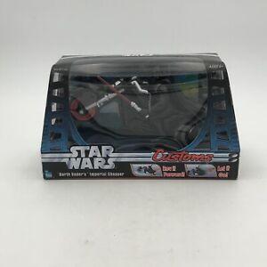 Star Wars Customs Darth Vader's Imperial Chopper Motorcycle Hasbro Figure Set US