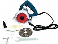 HD TILE MARBLE CUTTER GRANITE WOOD CIRCULAR SAW WET DRY WITH WOOD | TILE BLADES
