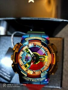 Casio G-Shock GM-110RB-2AJF rainbow japan set