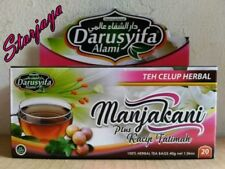 Tea Bag Manjakani Plus Kacip Fatimah Darusyifa 1 Box Contain 20 Sachets