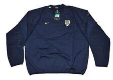 Boca Junior Training Jacket Buzo Rompeviento Player issue NIKE Blue XL