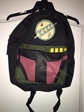 NEW WT Bioworld Star Wars Lucasfilm Bobafett Bookbag/ Backpack