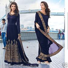 Pakistani Salwar Kameez Indian Bollywood Designer Anarkali Wedding Party Suit