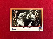 "1991, Jake LaMotta, ""Autographed"" (JSA) ""Kayo"" Trading Card (Raging Bull Ins.)"