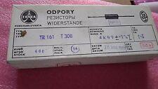 100+ pcs  precision  Resistors TESLA  4K99   1%  0.4W Metal film  type TR161