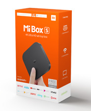 Xiaomi Mi Box S 4k HDR Android TV with Built in Google Cromecast/ Assistant