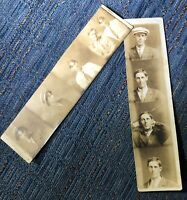 Circa 1920s Fair Photo Booth Strips