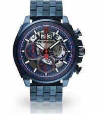 Detomaso Livello - Herrenuhr  blau/blau edelstahl armband