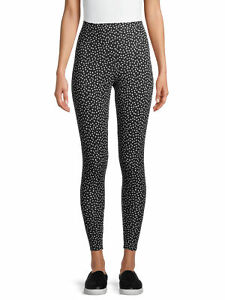 No Boundaries Juniors' Polka Dots Ankle Leggings Size XXXL/3XG(21)