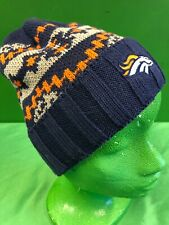WH225 NFL Denver Broncos Reebok Ribbed Knit Cotton/Acrylic Beanie Woolly hat