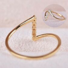 Rings Women Dainty Fashion 925 Silver Wedding Jewelry Sz 6-12