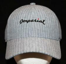 MEN'S Imperial Golf Sport Club Pin Striped Baseball Hat Naples FL NEW Golfer's