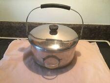 Vintage Revere Ware 6 Qt. Dutch Oven W/ Lid & Bail Handle Riverside Ca.