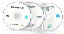 NEW DRIVERPACK DRIVERS DISC HIRENS BOOT WINDOWS 10 SYSTEM REPAIR RECOVERY 3x DVD