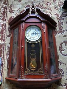 Pendulum Wall Clock (Westminster-Whittington chimes)