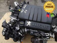 Motor 1.6 HDI 16V 9HZ CITROEN BERLINGO C4 C5 PICASSO 47TKM UNKOMPLETT