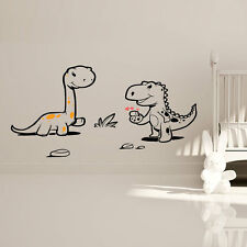DINOSAURS CHILDRENS WALL STICKER NURSERY MURAL ART DECAL CM2