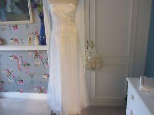 Destination wedding dress. white satin and beaded tulle overlay 8