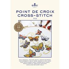 DMC CROSS STITCH Pattern Book No.01 35 nouvelles couleurs