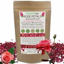 ROSE FLOWER PETALS Tea Organic Edible Infusion Culinary Premium Quality 50/100g