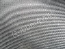 Black Heavy Duty FINE Ribbed Rubber Mat Matting ANTI-Slip 1.5m x 1.2m x 6mm thk