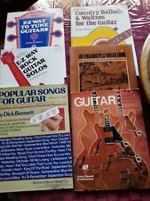 Guitar Instruction Books Collection 6 Books.