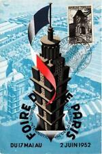 CPA FOIRE DE PARIS 1952 Philatelique. (562748)