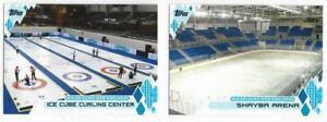 ICE CUBE CURLING CENTER 2014 TOPPS US OLYMPIC & PARALYMPIC VENUES #WOV-IC