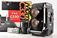 【N MINT】 Mamiya C330 Pro TLR Camera + Sekor 65mm F3.5 135mm F4.5 Lens From JAPAN