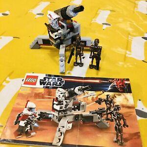 Lego Star Wars Elite Clone Trooper & Commando battlepack 9488 *Please Read!* (2)