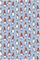 Cosy Penquins Cotton Tea Towel by Kate Mawdsley